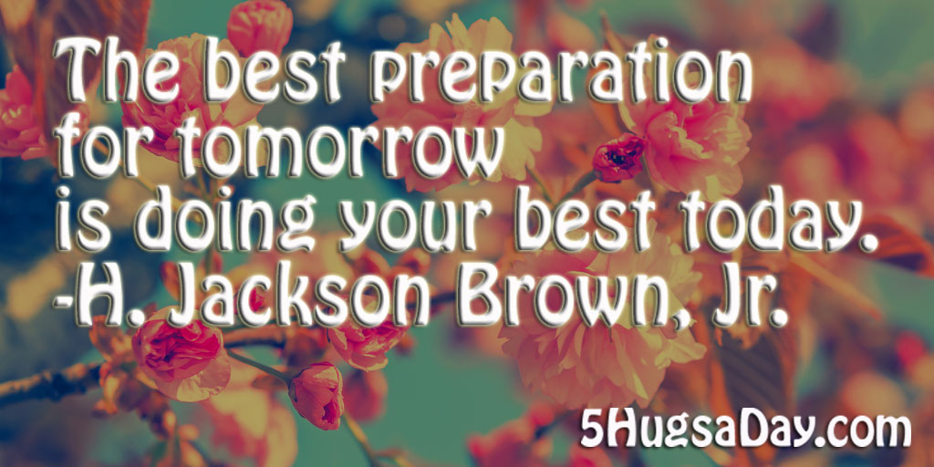 best tomorrow